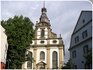 Die Dreifaltigkeitskirche von Speyer
