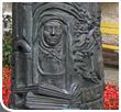 Stele zum Gedenken an die Hl. Edith Stein